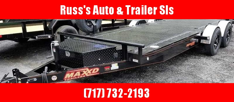 2019 MAXXD DROP-N-LOAD Car / Racing Trailer