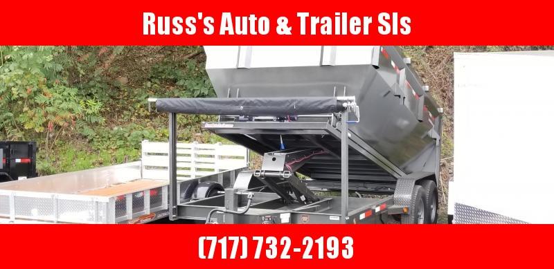 2019 Maxxd Trailers ROX8314 7X14 14k Roll-Off  Dump Trailer W/1 Bin