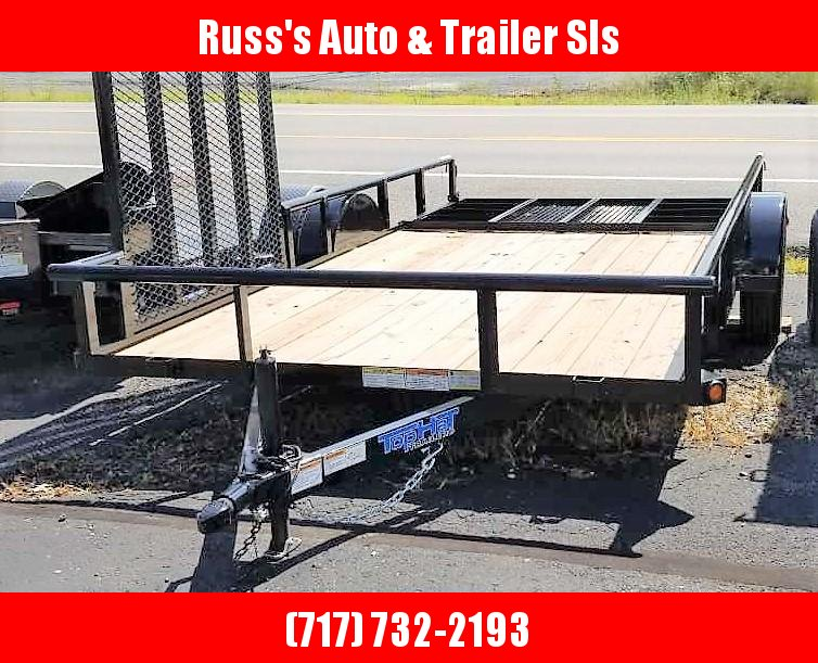 2019 Top Hat Trailers DSP 7x14 Utility Trailer