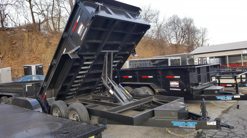 2018 Top Hat 7 X 12 DP120 Dump Trailer