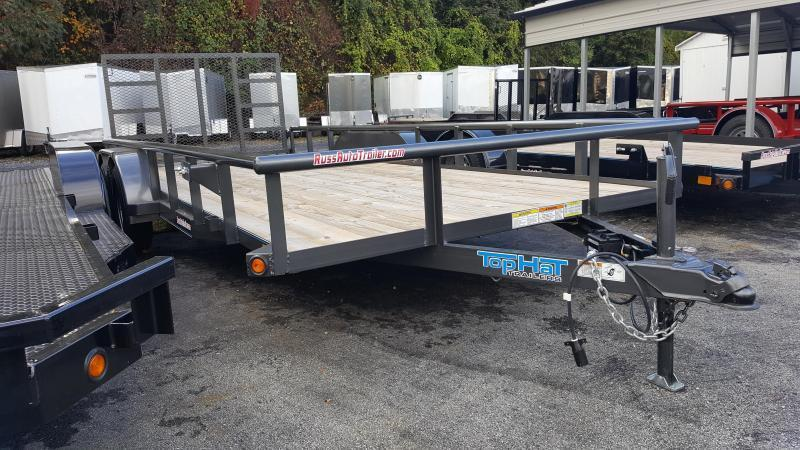 2019 Top Hat Trailers 7 X 16 MP Utility Trailer 7k GVWR