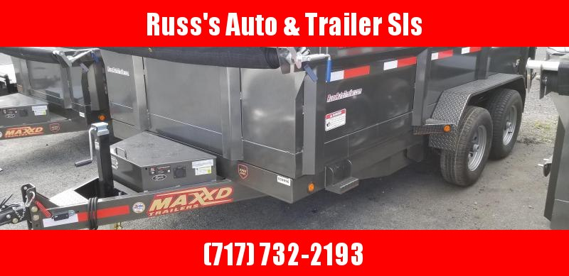 2018 Maxxd  DMX 7X14 Dump Trailer w/ 7' Slide-In Ramps