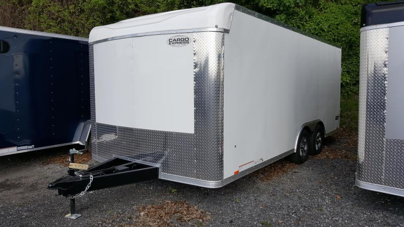 2019 Cargo Express 8.5 X 18 CXT Enclosed Trailer W/ Aluminum Wheels