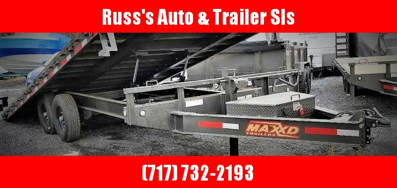 "2019 MAXXD TOX 22' X 102"" Power Tilt Deckover Trailer"