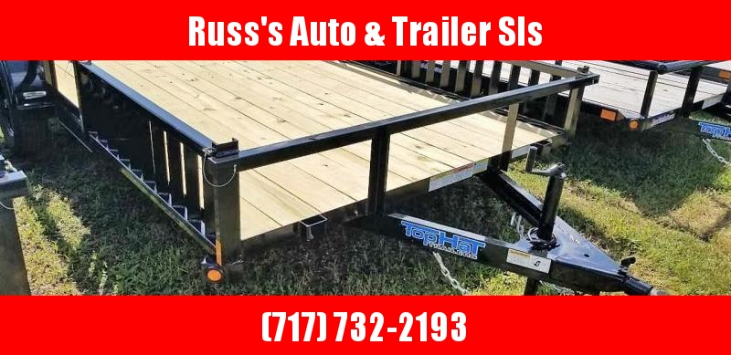2020 Top Hat 7X14 QUAD HAULER Utility Trailer