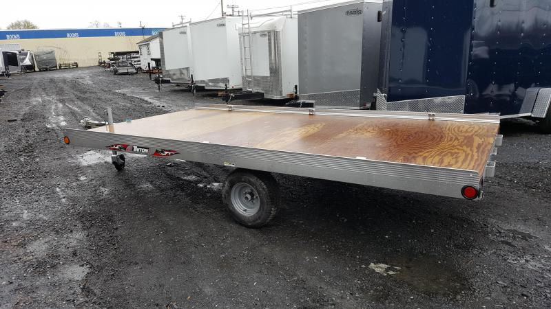 2018 Triton ATV128 ATV Trailer 3 Place W/Twin Ramp