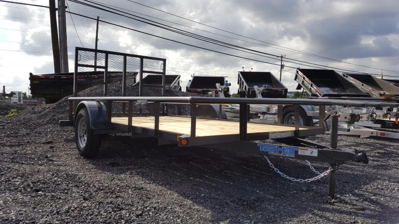 2018 Top Hat Trailers DSP Utility Trailer 6.5 X 12 Char