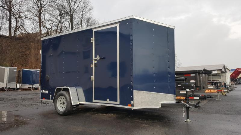 2019 Cargo Express 6X12 EX DLX Enclosed Trailer w/Doors & 2019 Cargo Express 6X10 EX DLX Enclosed Trailer w/Doors | Russ ...