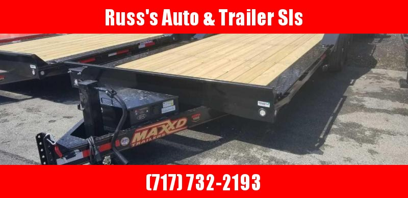 "2019 MAXXD T6X 24' X 102"" Power Tilt Equipment Trailer"