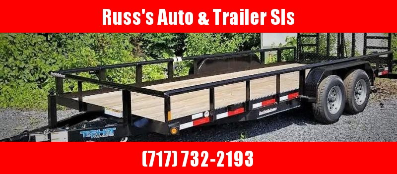 2019 Top Hat 7X18 Utility Trailer- 10K W/HD Split Gate