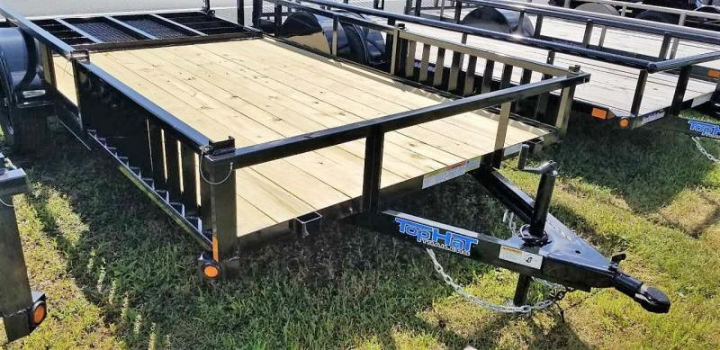 2020 Top Hat Trailers 7X14 QUAD HAULER Utility Trailer