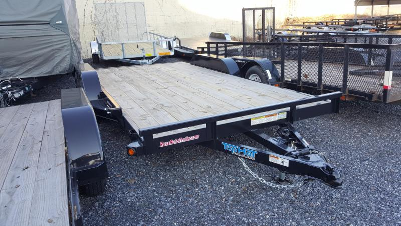 2018 Top Hat Trailers 7 X 16 Car Hauler Trailer 7k GVWR