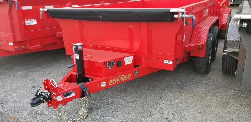 2019 Maxxd 6 X 10D7X Dump Trailer 10K SLIDE-IN RAMPS