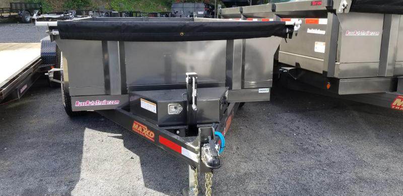 2019 Maxxd 6 X 12D7X Dump Trailer 10K SLIDE-IN RAMPS