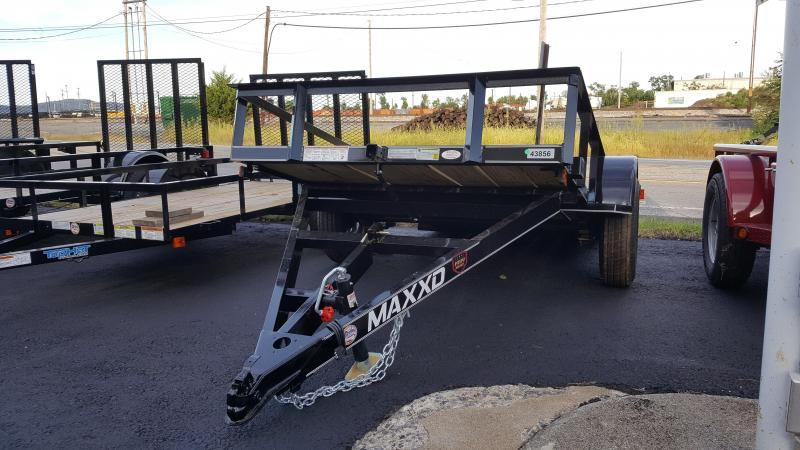 2018 Maxxd 5 X 10 Utility Trailer White Series TILT-Black