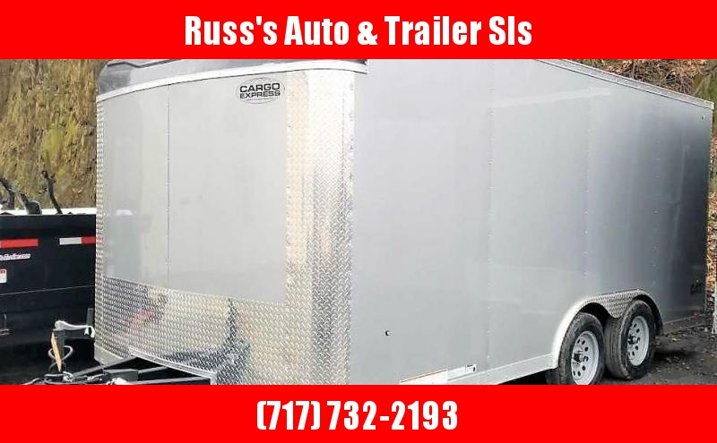 2020 Cargo Express 8.5 X 16 CXT Enclosed Trailer