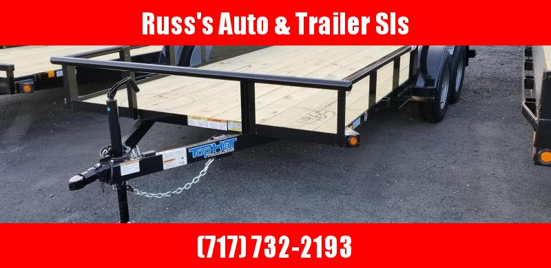 2019 Top Hat Trailers 7 X 14 MP Utility Trailer 7k GVWR
