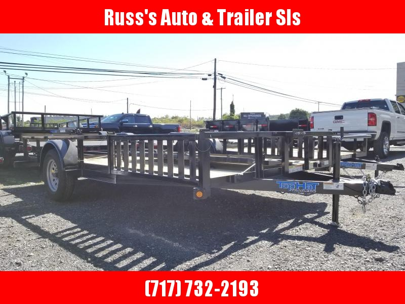 2019 Top Hat 7 X 12 Quad Hauler w/ Side Loading Ramps