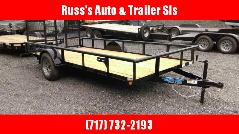 2019 Top Hat Trailers 6.5X14 DSP Utility Trailer