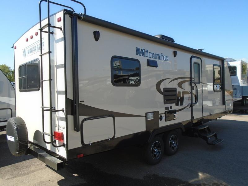 Creative Our Minnie Line Continues To Grow In Popularity Because Of Fresh Interior Styling, An Increasing List Of Features, Quality Craftsmanship, And Novel Exterior Colors Winnebagos Affordable Travel Trailers Range From The Compact, Easytotow