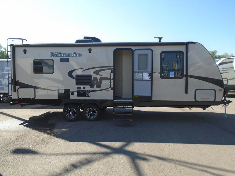 Innovative With A Winnebago RV Minnie You Will Have All The Comfort Features And