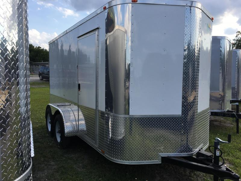 2018 Arising 6x12 Tandem Axle Enclosed Cargo Trailer