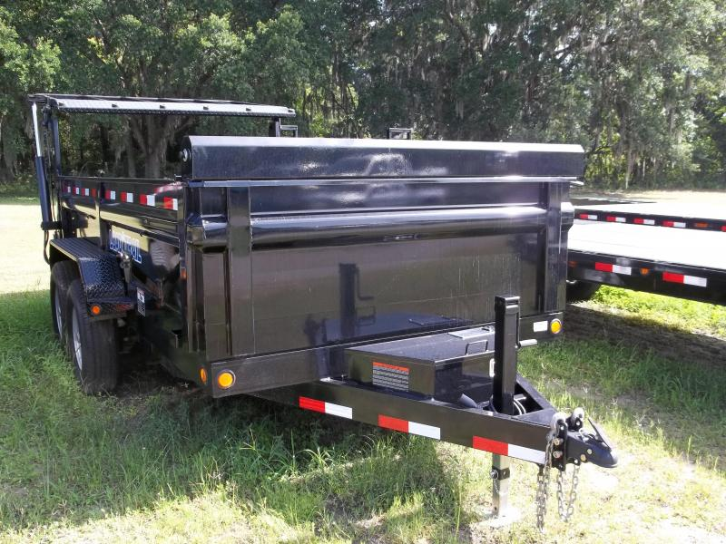 2014 Load Trail 7'x14'  Hyd. Gate Dump Trailer