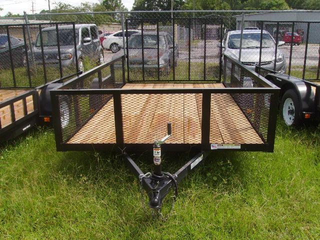6x12 Triple Crown Trailers Utility Trailer 2' MESH Sides Trailer