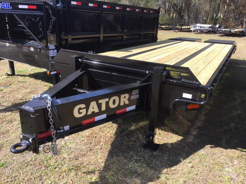 2018 Gatormade Trailers Heavy Duty 25ft Equipment Trailer