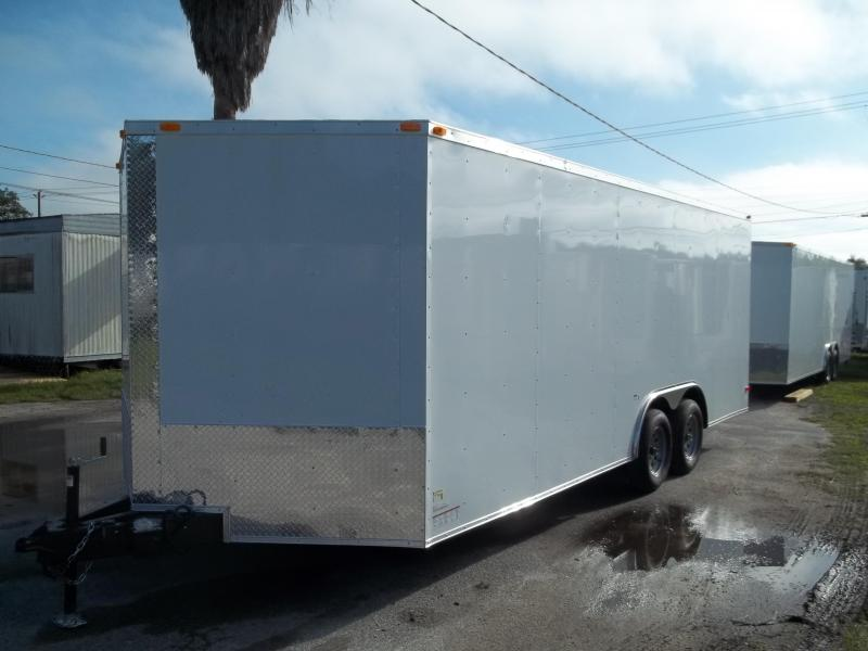 2015 South Georgia 8.5x20 tandem Cargo / Enclosed Trailer