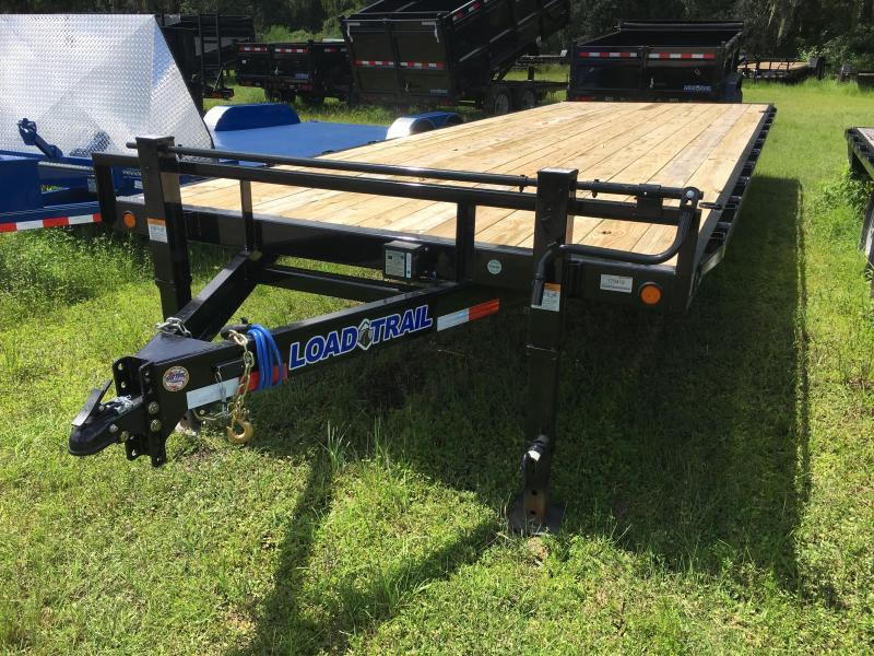 2018 Load Trail 8.5x24 Pintle Equipment Trailer