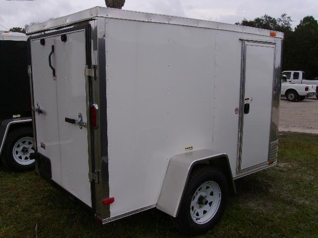5x8 Arising Trailers  Enclosed Cargo Trailer