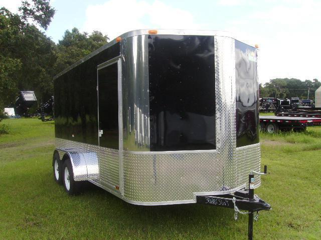 7x14 Arising Trailers  Enclosed Cargo Trailer