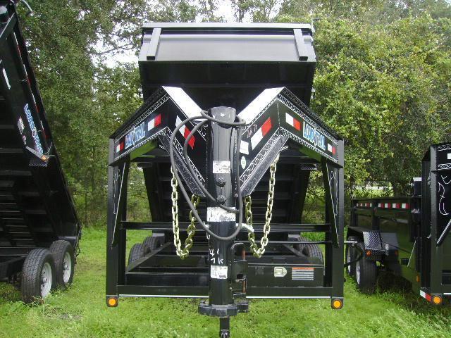 7x14 Load Trail Trailers Gooseneck DumpTrailers