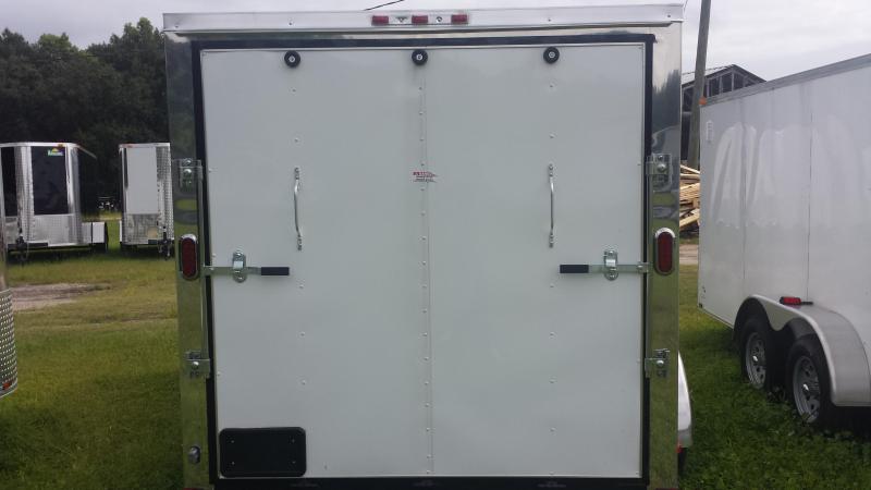 7x12 Arising Enclosed Cargo Trailer w/Side Door