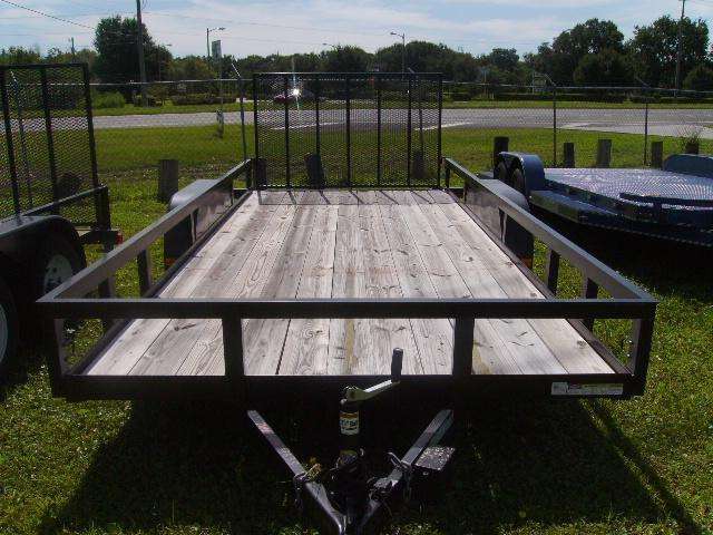 7X18 HD Triple Crown Trailers Utility Equipment Trailer