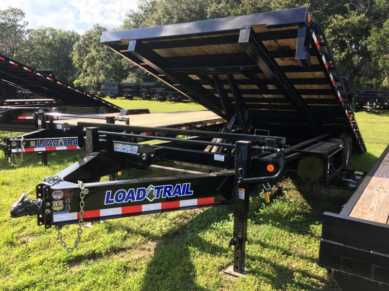 2019 Load Trail 8.5x22 Pintle Hook Tilt Deck Equipment Trailer
