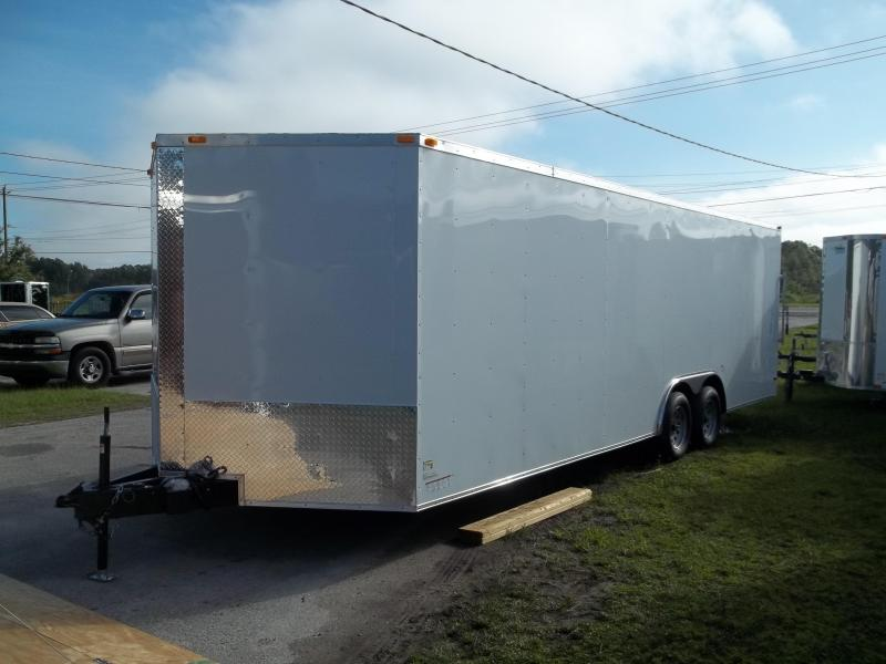 2015 South Georgia 8.5x24 tandem Cargo / Enclosed Trailer