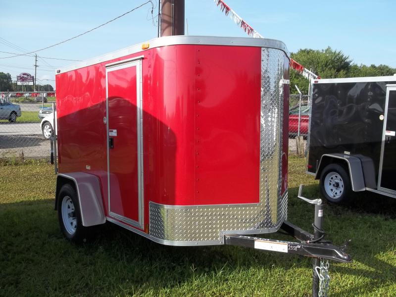 2013  Arising Cargo 5x8  / Enclosed Trailer