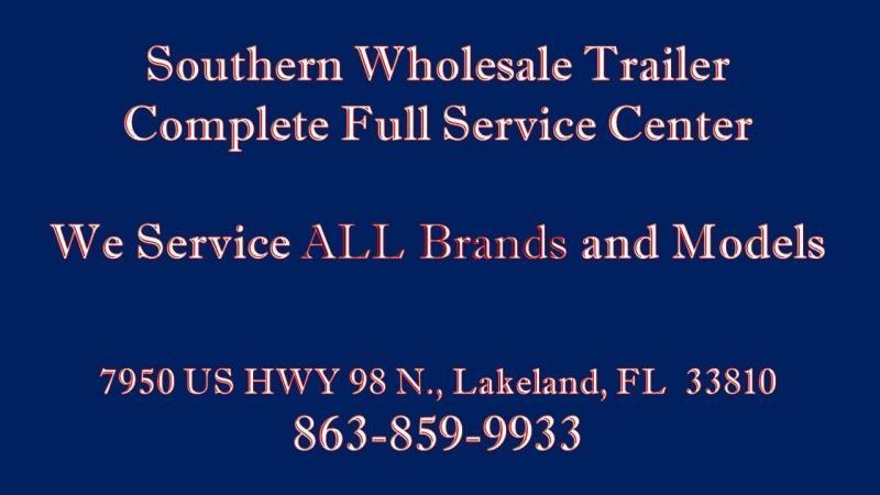 2016 Triple Crown Trailers 7x12 Trailer Mesh Sides