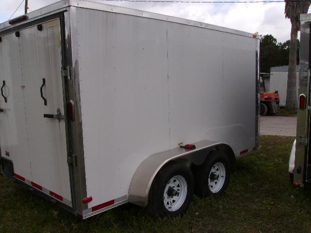 7x12 Arising Trailers Enclosed Cargo Trailer