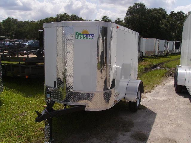 4x6 Arising Trailers Enclosed Cargo Trailer