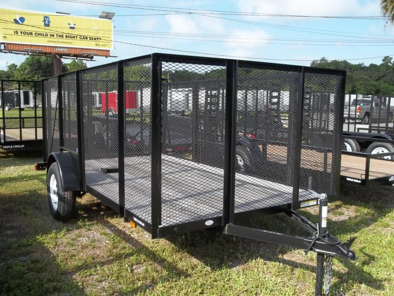 2013 Triple Crown Trailers 6x12 sng axle Utility Trailer