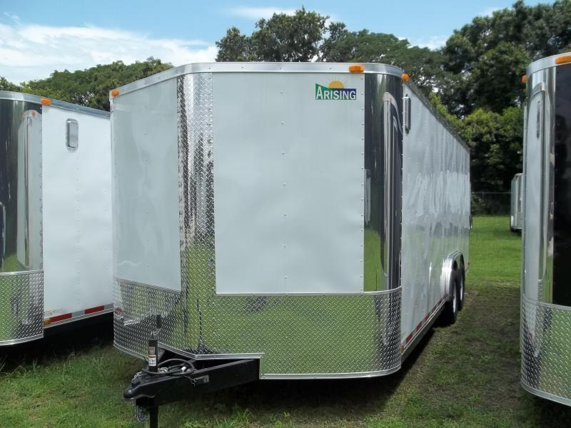 2015 Arising 8.5x18 tandem Cargo / Enclosed Trailer