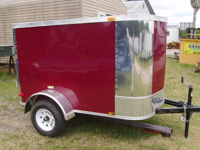 4x6 Arising Tailers Enclosed Cargo Trailer