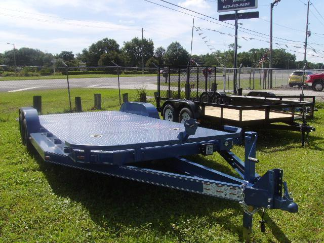 7x20 Load Trail Trailers CAR HAULER STEEL DECK Trailers