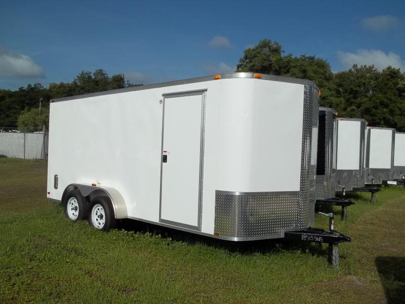 2014  Arising Cargo 7x16  / Enclosed Trailer