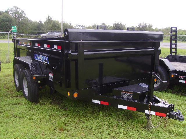 7X12 Load Trail Trailers Dump Trailer [14000 GVWR]