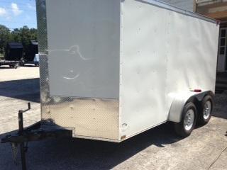 7X12 Enclosed Cargo Trailer