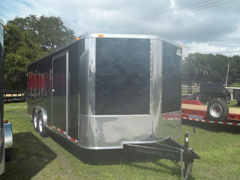 2015 Arising 8.5x20 tandem Cargo / Enclosed Trailer